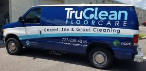 Stafford Vinyl Printing Vehicle Wrap Tru Clean 300x146