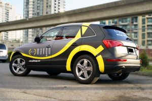 Houston Car Wraps Mango vehicle car Wrap 300x200